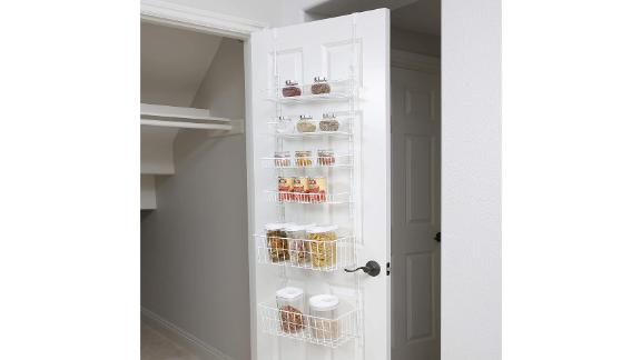 Smart Design Over-the-Door Adjustable Pantry Organizer