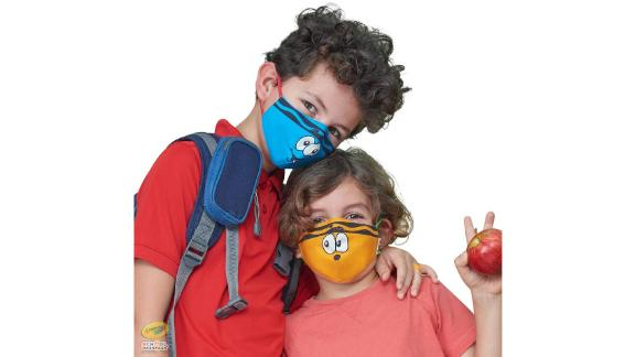 Crayola Kids' Face Masks, 5-Pack
