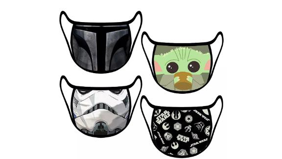 'Star Wars' Cloth Face Masks, 4-Pack