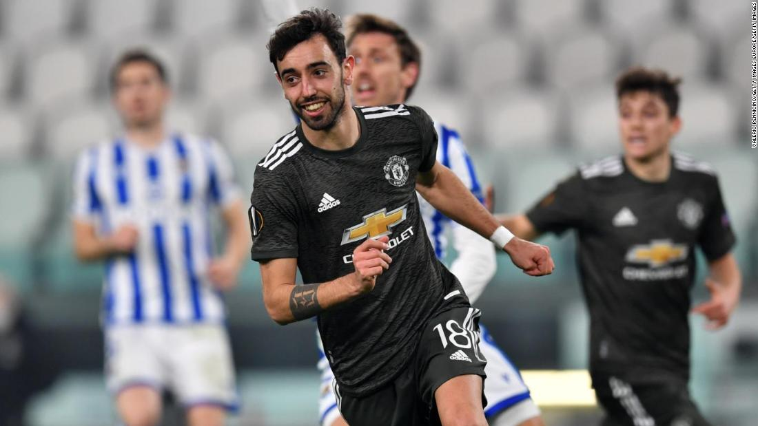 Bruno Fernandes nets brilliant brace to inspire Manchester United to victory