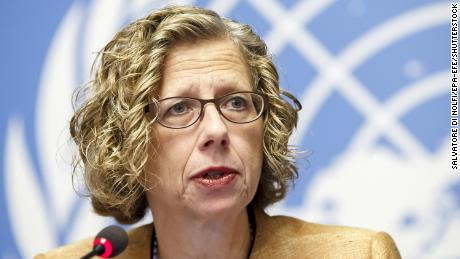 Inger Andersen, Executive Director of the United Nations Environment Programme (UNEP).