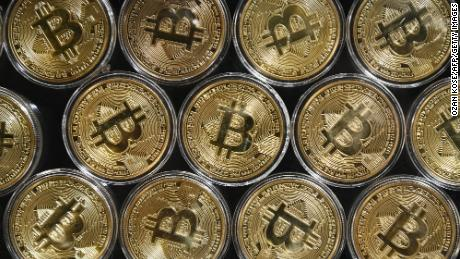 Bitcoin's market value tops $1 trillion