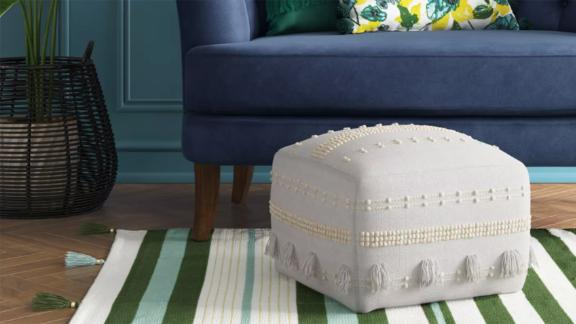 Opalhouse Lory Textured Pouf
