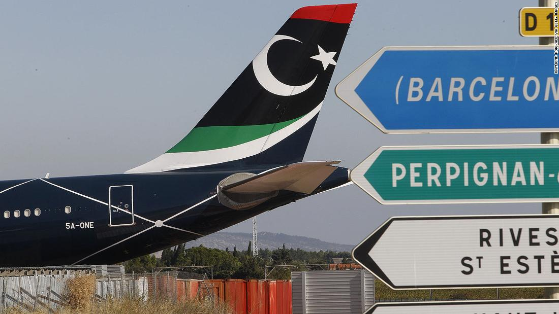 Gadhafi's private airplane can't stop attracting trouble