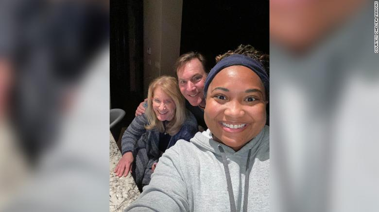 Strangers took in a delivery driver for 5 days after she was stranded in the Texas storm