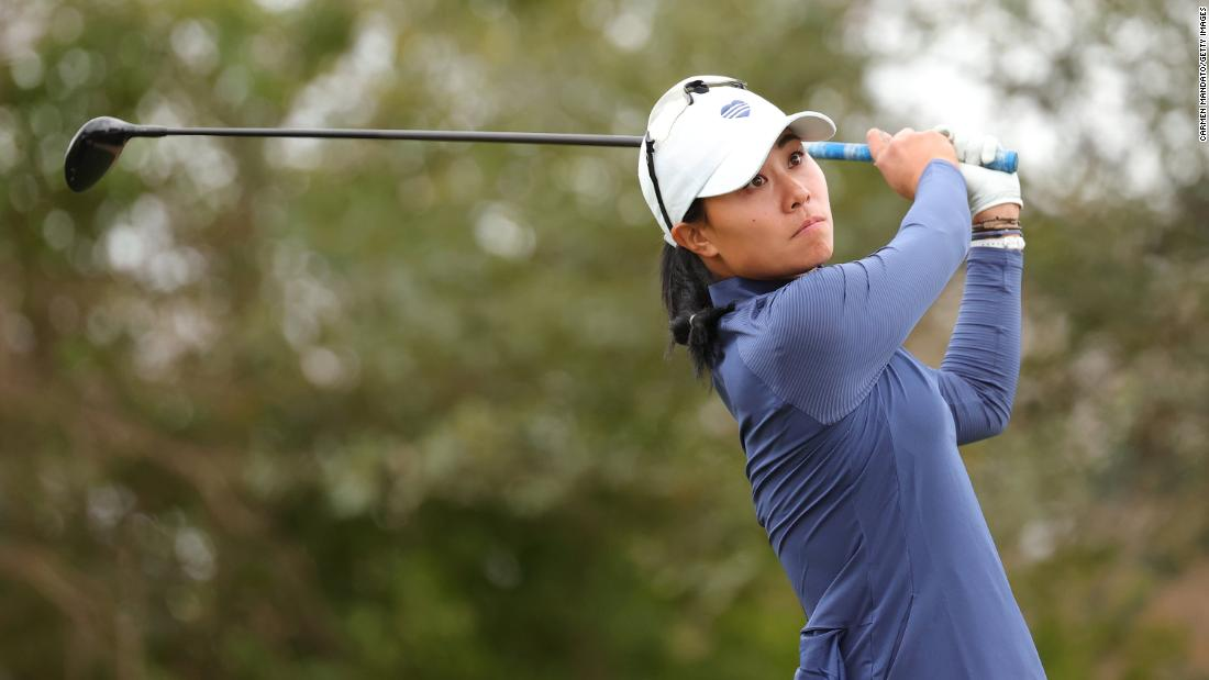 Grief over her father's death helped drive golfer Danielle Kang to major success