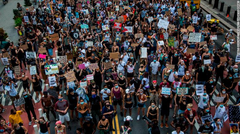 BLM protesters were targeted by federal government with stiffer punishments, an analysis shows