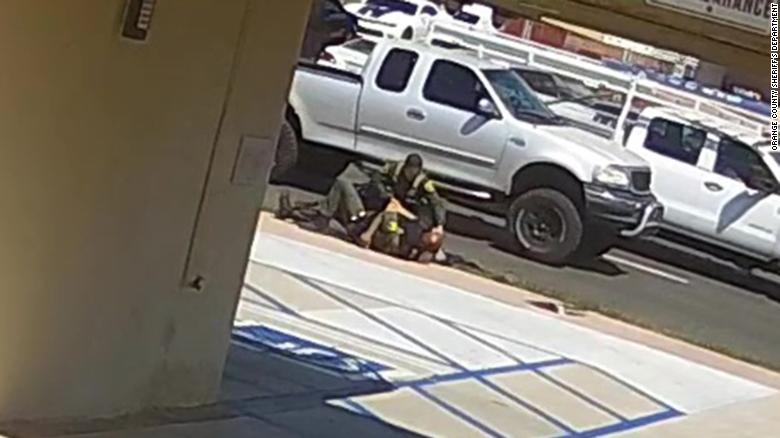 California sheriff's department releases video from fatal shooting
