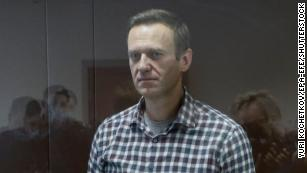Putin critic Alexey Navalny has been transferred to a penal colony, Russian prison service says