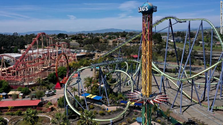 Six Flags plans to open all of its amusement parks for 2021 season