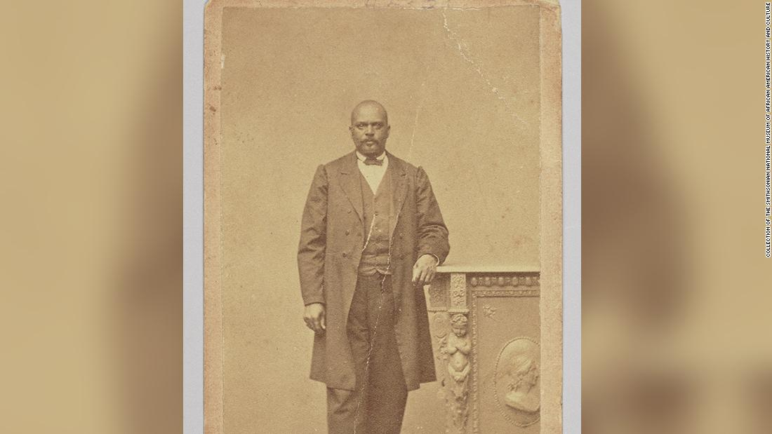 A former slave became Lt. Governor and died 4 years later