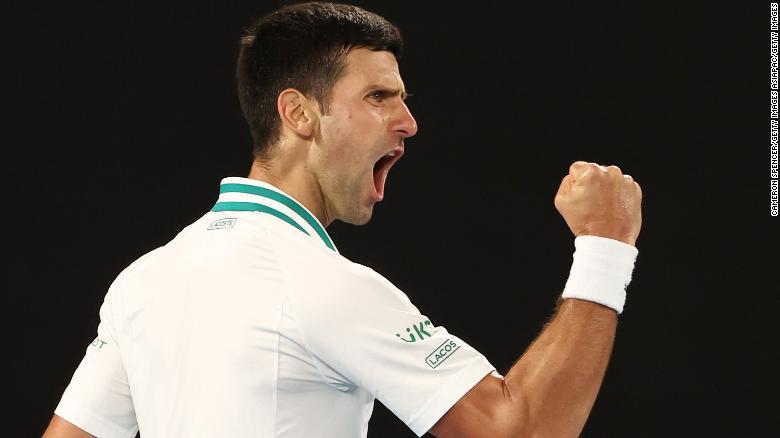 Djokovic kini hanya tertinggal dua grand slam dari rekor sepanjang masa sebanyak 20 yang dipegang Rafael Nadal dan Roger Federer.