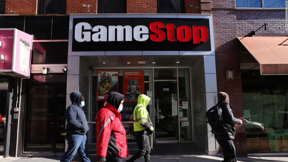 White House says stock-trading tax is worth studying after GameStop frenzy - CNN