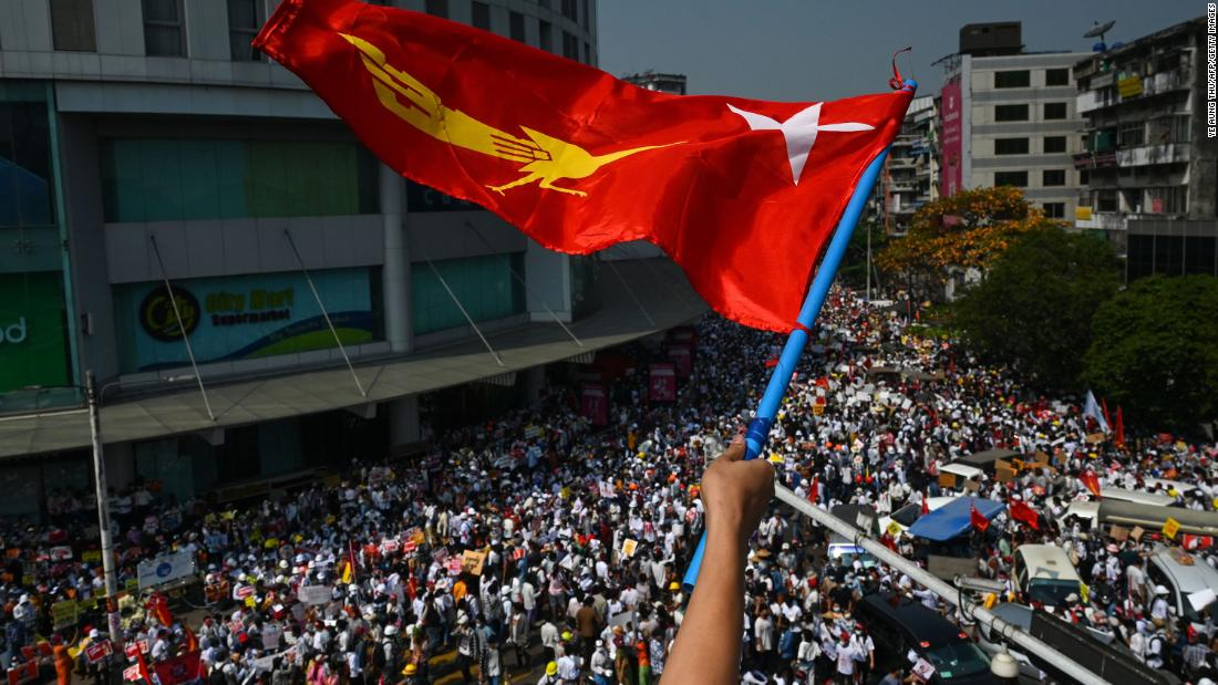 Huge demonstrations across Myanmar despite military's warning that protesters could 'suffer loss of life' – CNN