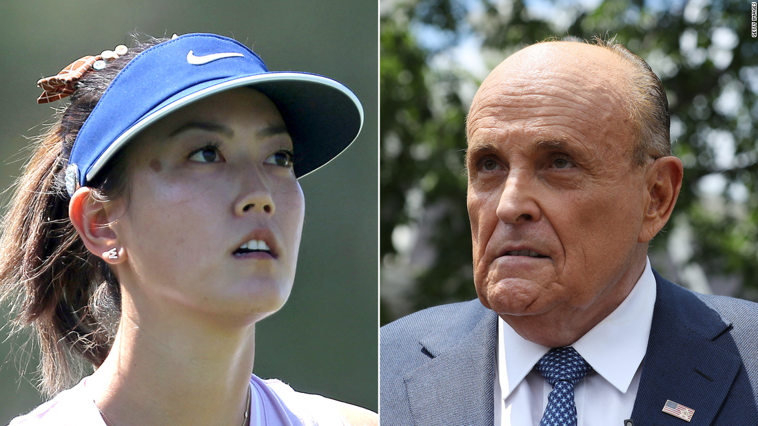 Golf world rallies around Michelle Wie West following Rudy Giuliani's 'highly inappropriate' comments