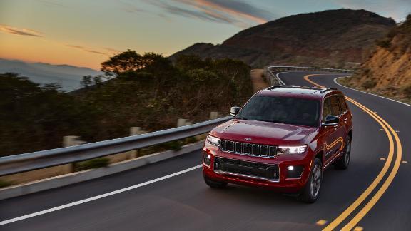 The 2021 Jeep Grand Cherokee.