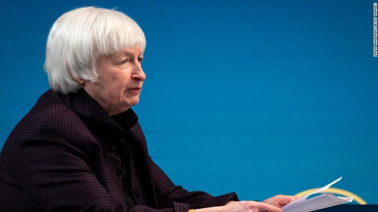Yellen calls for global minimum corporate tax rate in first major address as Treasury secretary