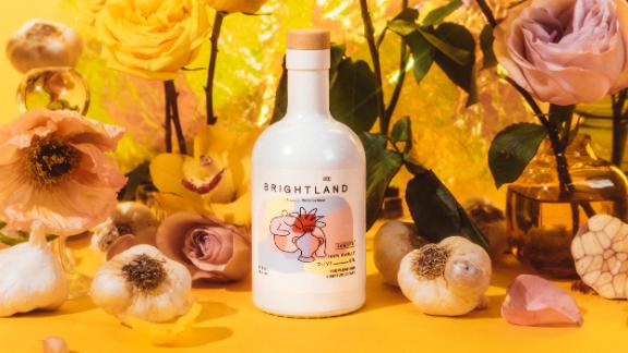 Brightland's garlic-infused Rosette olive oil