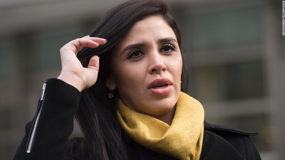 'El Chapo' wife Emma Coronel Aispuro arrested at Dulles airport
