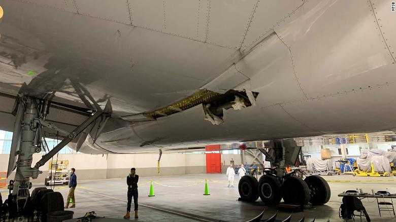 United Airlines flight 328 experienced a right engine failure after takeoff from Denver International Airport.