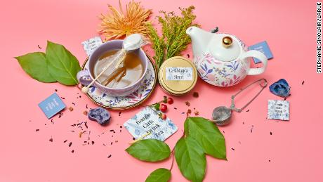 From Casablanca Street to Moroccan Mint, loose leaf tea flavors are sold at LaRue 1680's website.