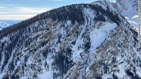 """Bridger-Teton Avalanche Center shared this photo on Monday announcing there had been a fatality """"in very extreme terrain."""""""