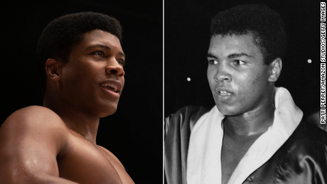 Eli Goree plays a young Cassius Clay in the movie.