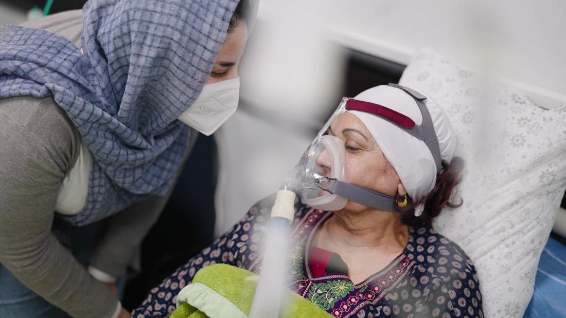 Inside a Covid-19 ICU in Baghdad, Iraq  - CNN Video