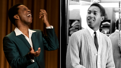 Leslie Odom Jr. as Sam Cooke. Odom is nominated for an Oscar for his performance.