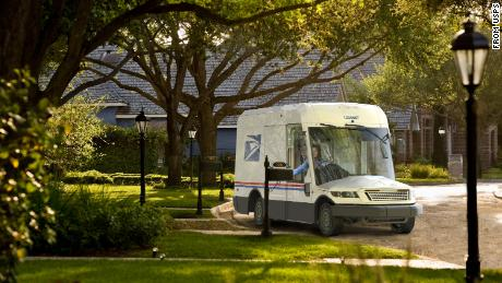 The US Postal Service unveiled its next generation delivery vehicle Tuesday. It is due to start delivering mail and packages in 2023.