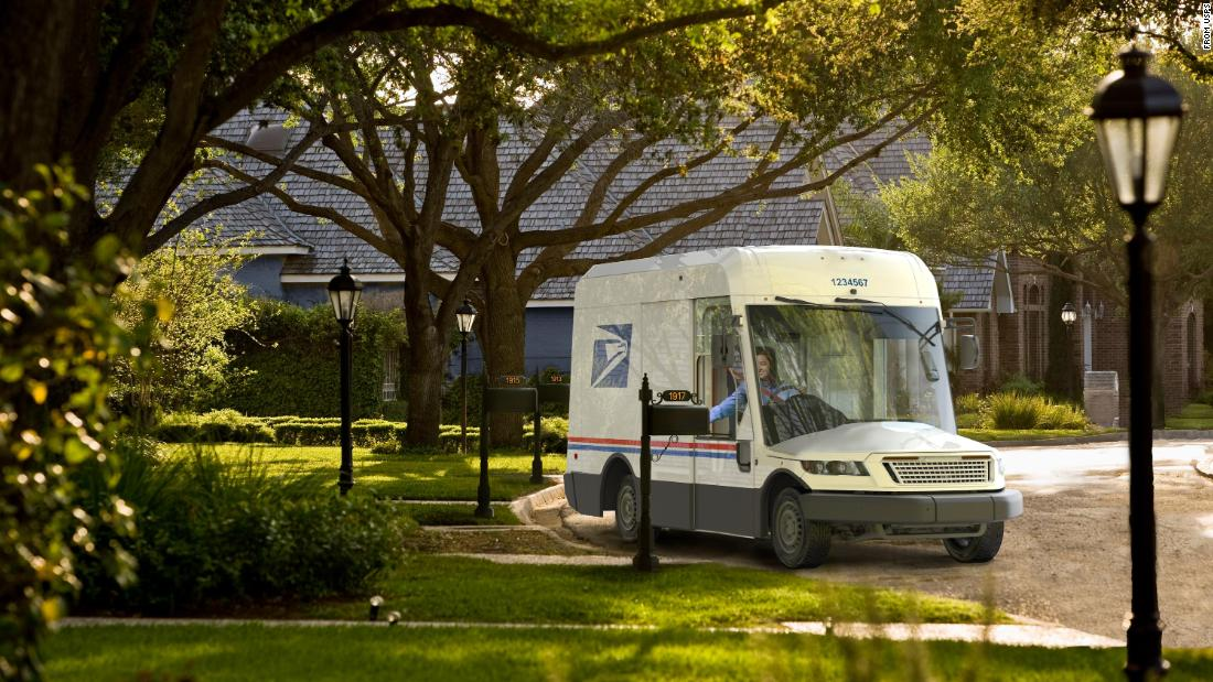 New Postal Service Delivery Vehicle Unveiled. It's A Pretty Radical Change  - NewsOpener