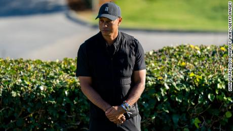 In the days leading up to his crash, Tiger Woods had been teaching golf to movie and sports stars