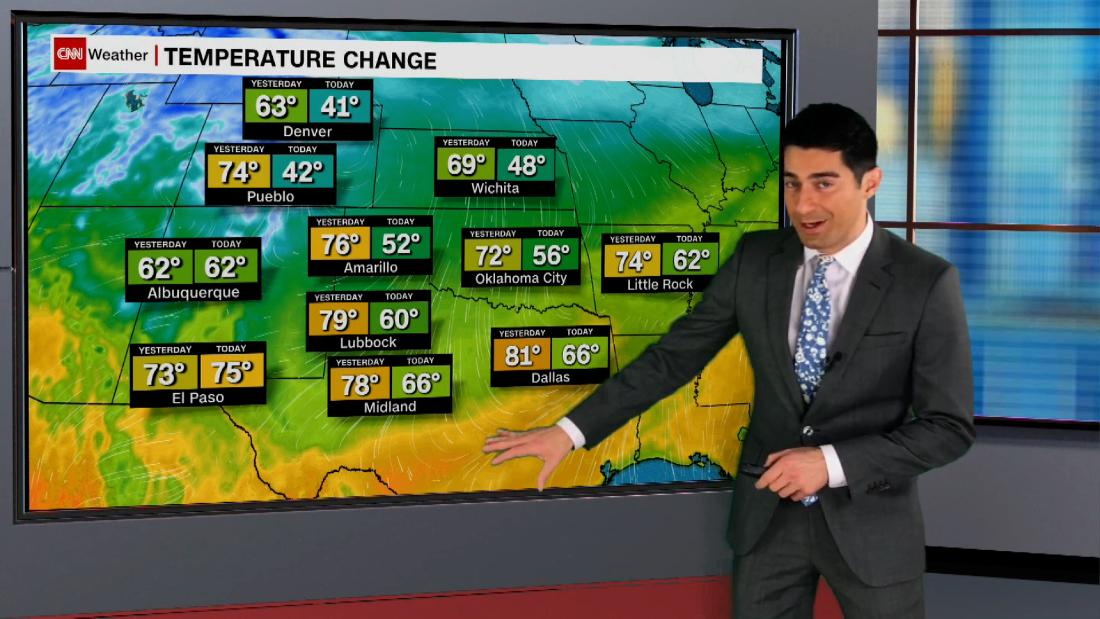 Weatrher forecast: Weather whiplash from the Plains to the Southeast - CNN Video