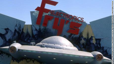 A Fry's Electronics location in Los Angeles, California, in 1997.