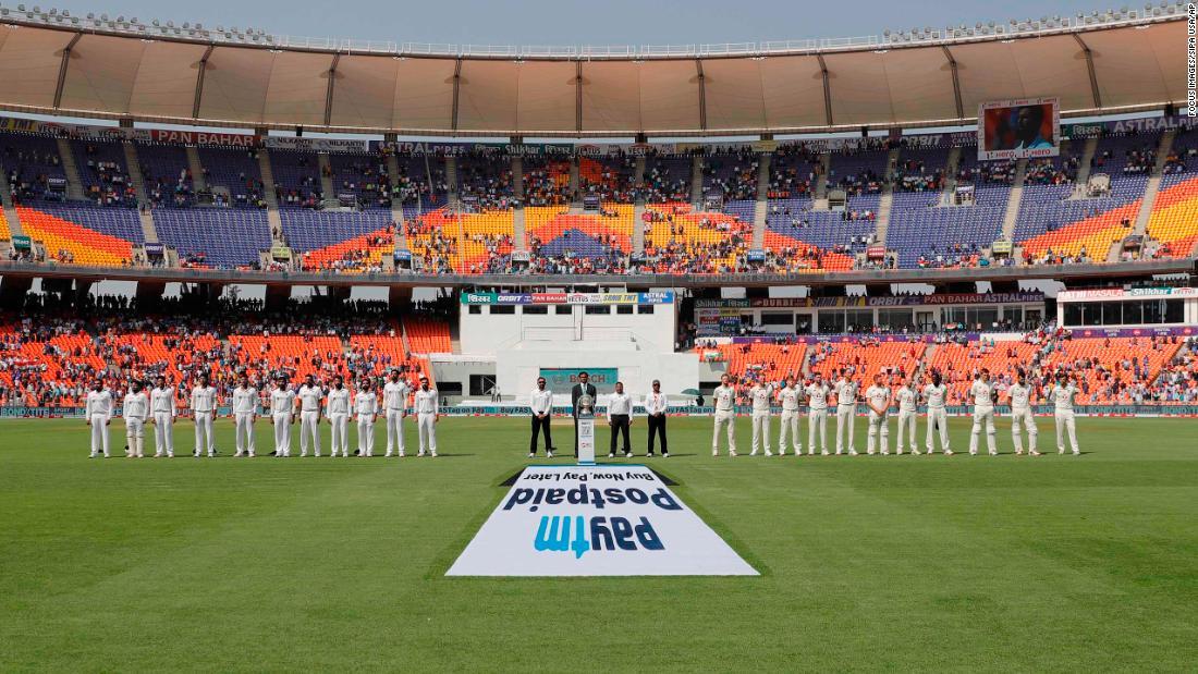 World's largest cricket stadium hosts its first Test match
