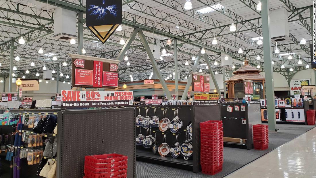 Fry's Electronics suddenly went out of business