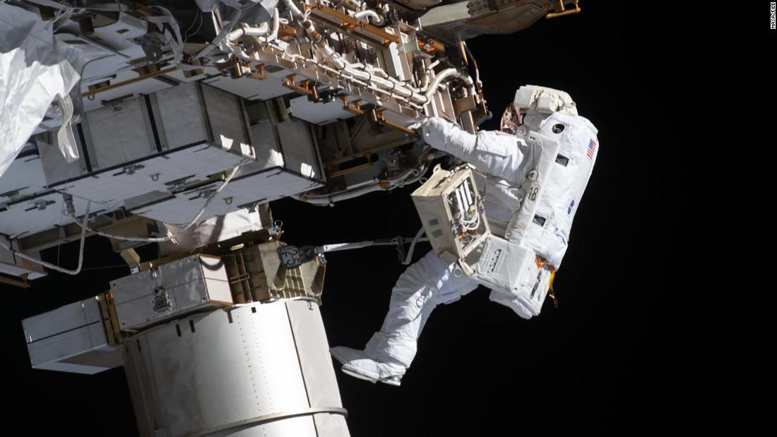 NASA walk: Watch astronauts Kate Rubins, Victor Glover outside the space station