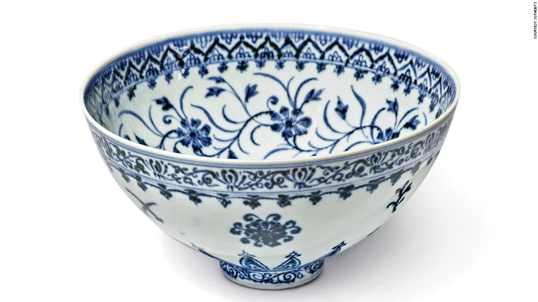 Chinese bowl bought for $35 at a yard sale could make half a million