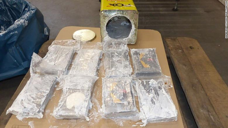 Police in Germany and Belgium make Europe's biggest ever cocaine bust, worth billions of euros