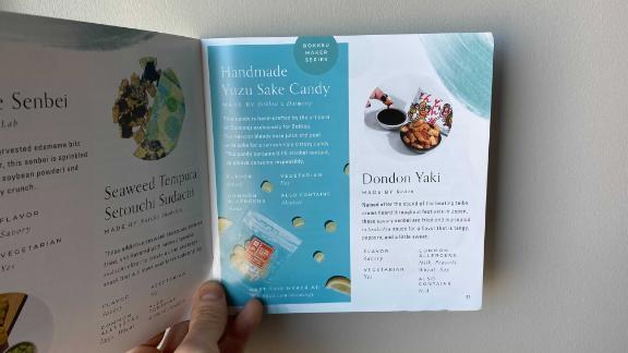 Bokksu booklet