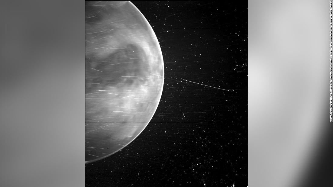Amazing close-up of Venus captured by NASA Parker Solar Probe
