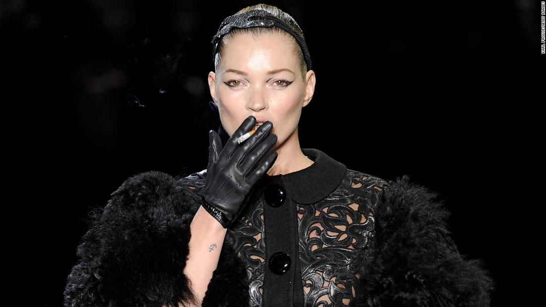 Kate Moss smoking, a barely-there bikini and more moments from fashion week