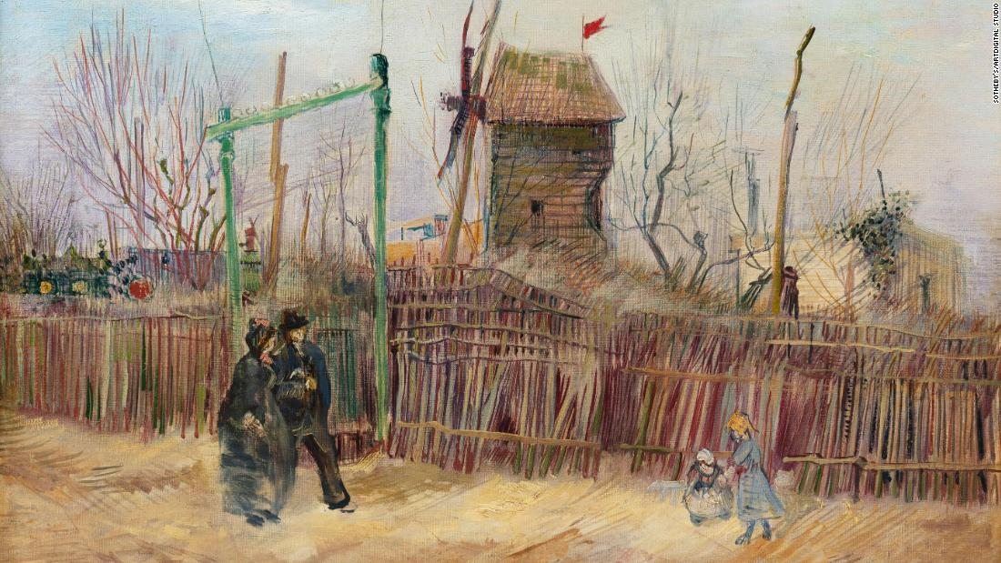 This Vincent van Gogh painting was kept hidden in a private collection until now