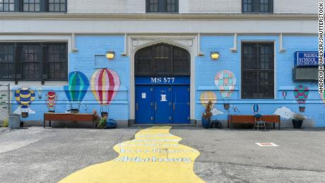 New York City middle schools reopen for in-person classes as Covid-19 surge fades