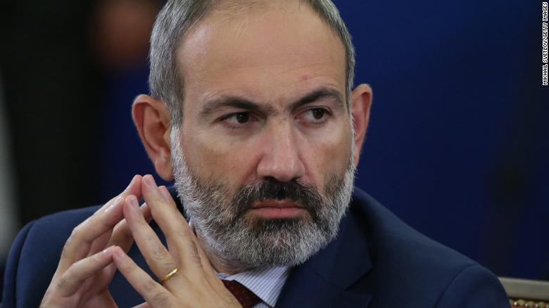 Armenian Prime Minister says he is facing an attempted 'military coup' after army demands his resignation
