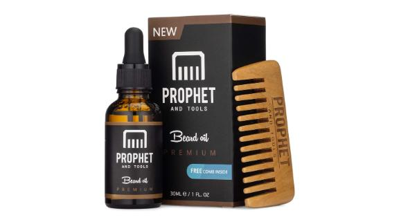 Prophet and Tools Beard Oil and Comb