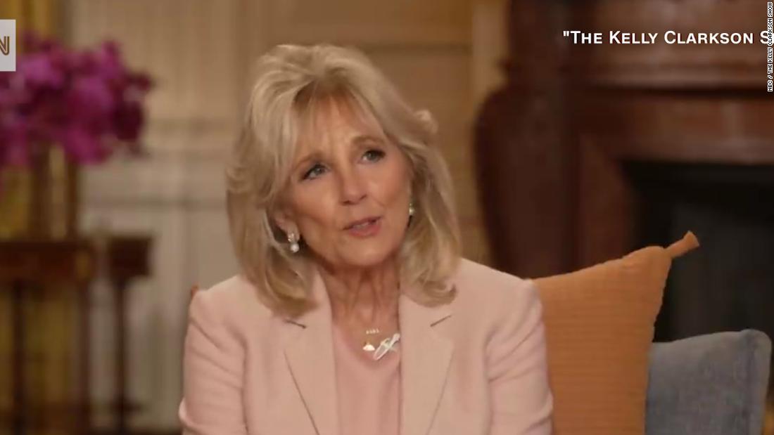 Jill Biden, Kelly Clarkson discuss love and divorce - CNN Video