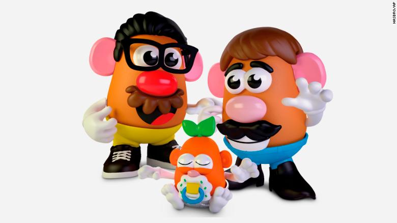 Mr. and Mrs. Potato Head are going gender neutral