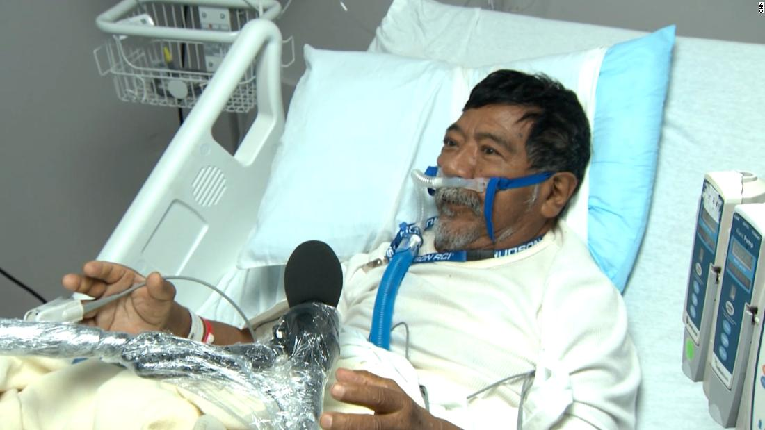 This man was on oxygen when Texas' electricity went out. Then the batteries died