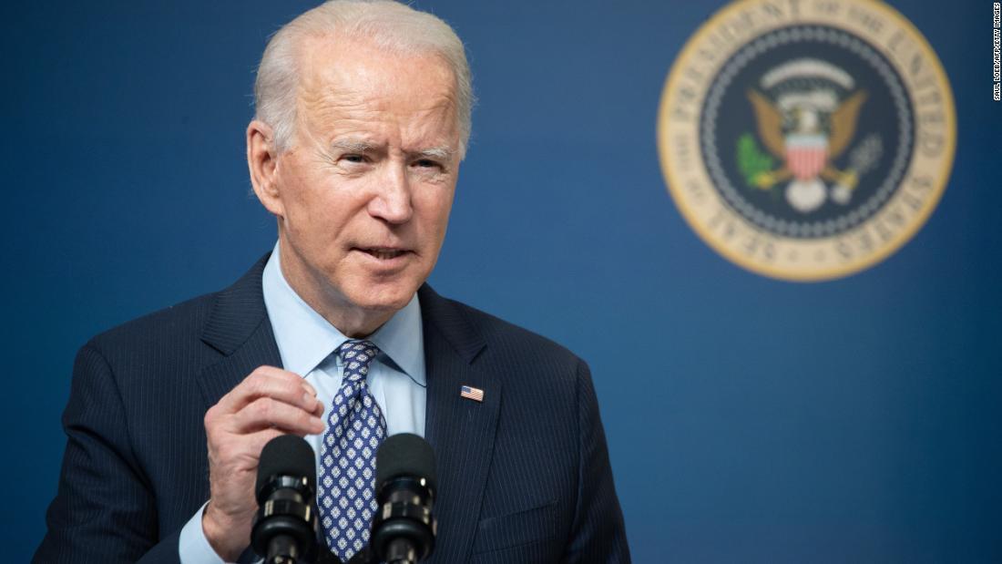 Axelrod explains the message Biden is sending with strike - CNN Video